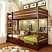 Кровать двухъярусная деревянная Дуэт (бук), фото 7