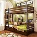 Кровать двухъярусная деревянная Дуэт (бук), фото 8