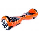 Гироcкутер Smart Balance 6.5 Оранжевый (Orange) TaoTao APP. Гироборд Про помаранчевий. Автобаланс, фото 2