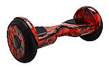 ГИРОСКУТЕР SMART BALANCE 10.5 Wheel Красное пламя TaoTao APP автобаланс гироборд Гіроскутер, фото 2