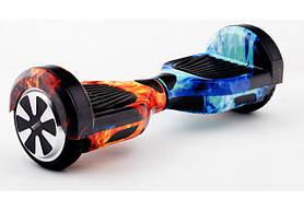 Гироcкутер Smart Balance 6.5 Premium Огонь и Лёд TaoTao APP. Гироборд Про огонь и вода Автобаланс