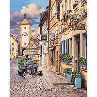 """Картина по номерам Городской пейзаж """"Сказочная Бавария"""" 40*50см KHO3540"""