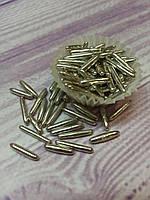 Посыпка кондитерская, палочки зеркальные серебро