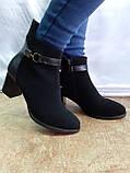 Демисезонные классические замшевые ботинки Romax, фото 7
