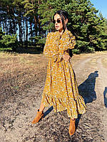 Легке оригінальне плаття з шифону підкреслить вашу жіночність і сексуальність, розміри: 42, 44, 46