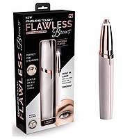 Триммер для бровей Flawless Brows триммер-ручка для коррекции бровей карманный портативный + батарейка