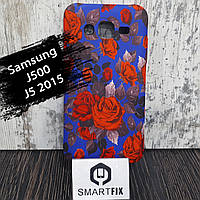 Чехол с рисунком для Samsung J5 (J500) 2015 Красная роза