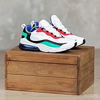 Разноцветные мужские кроссовки демисезон. Размер 44