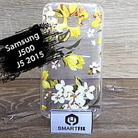 Чехол с рисунком для Samsung J5 2015 (J500)