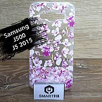 Переливающийся чехол для Samsung J5 2015 (J500)
