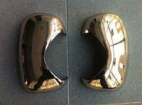 Накладки на зеркала (нерж.) Opel Vivaro