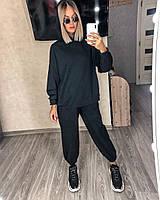 Стильный женский спортивный костюм с топом,брюками и худи (Норма), фото 7