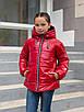 Демисезонная куртка для девочек от производителя  32-42  синий, фото 6