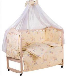 Дитячі матраци, ліжечка, постільні комплекти