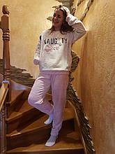 Стильная молодёжная махровая пижама