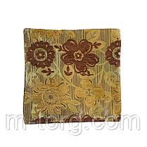 Декоративная наволочка на молнии  40/40 см, ткань гобелен, фото 3