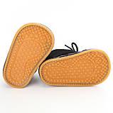 Теплые пинетки-ботиночки 12 см., фото 4