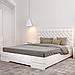 Кровать деревянная двуспальная Камелия с подъемным механизмом, фото 2
