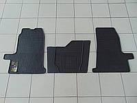 Коврики в салон резиновые для Ford Transit 00-/06-, Polytep, комплект 2шт