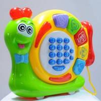 """Музыкальная игрушка """"Умная улитка"""" 9801-9A"""