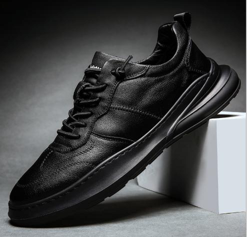 Кроссовки туфли осенние черные