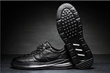 Кроссовки туфли осенние черные, фото 2