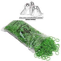 Резинки латексные, ярко-зеленые, 1000 шт