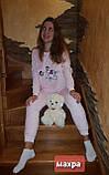 Махровая пижама ,стриженая махра, фото 2