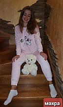 Махровая пижама ,стриженая махра