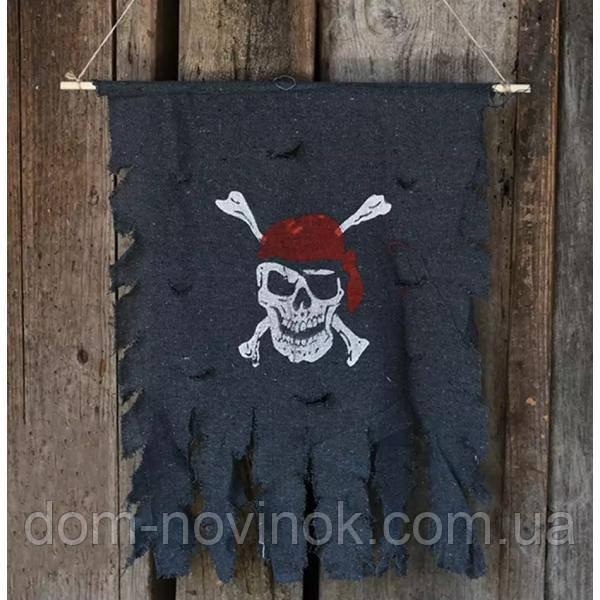 Декор настенный Пиратский Флаг .