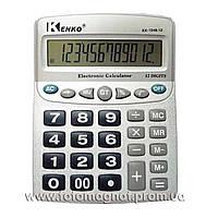 Калькулятор настольный бухгалтерский Kenko 1048