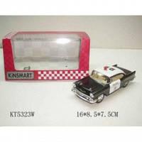 "Машина металл ""Полиция Chevrolet Corvette"" KT5323W"