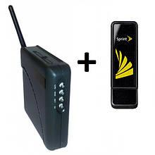 3G модем Sierra 598u + WiFi-роутер Unefon MX-001