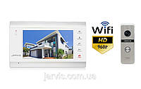 Комплект WiFi AHD 960P видеодомофон Jarvis JS-71MW HD+ WiFi + JS-02S HD+