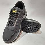 Мужские кроссовки р. 41,43 Sport fashion / искусственная кожа  / Черные, фото 2