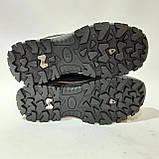 Мужские кроссовки р. 41,43 Sport fashion / искусственная кожа  / Черные, фото 7