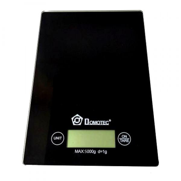 Электронные сенсорные кухонные весы на 5 кг Domotec CK 1912 MS 912