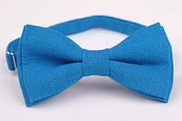 Бабочка льняная Синяя волна