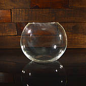 Круглые аквариумы, бокалы