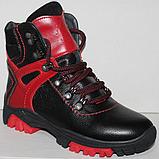 Ботинки на байке подростковые от производителя модель ДЖ2Б-1, фото 2