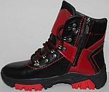 Ботинки на байке подростковые от производителя модель ДЖ2Б-1, фото 3