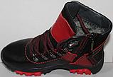Ботинки на байке подростковые от производителя модель ДЖ2Б-1, фото 4