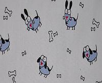 """Ткань с принтом """"Dogs"""""""