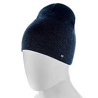 Молодежная зимняя шапка ATRICS MH749 Универсальный Темносиняя-мулине
