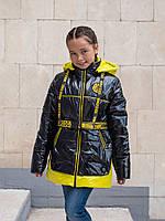 Осенние куртки для девочек подростков 34-44 черный