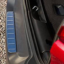 Захисна накладка на задній бампер для Jeep Cherokee 2014-2017