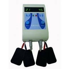 Аппарат для миостимуляции лица «АЭСТ-01» 2-х канальный, косметологический аппарат миостимуляции
