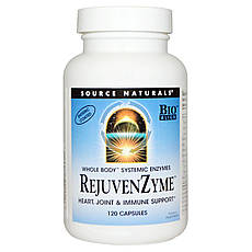 Source Naturals, RejuvenZyme, 120 капсул