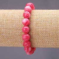 Браслет из камня Турмалин (им) гладкий шарик d-10(+-)мм на резинке обхват 18см купить оптом в интернет