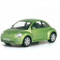 """Машина металл 18 см.""""Volkswagen New Beetle"""" KT7003W"""